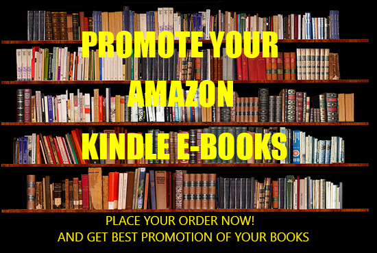 I will do viral kindle book promotion or eBook promotion