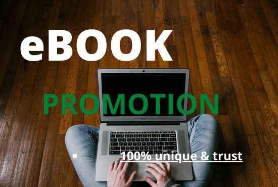 i will promote your book and ebook