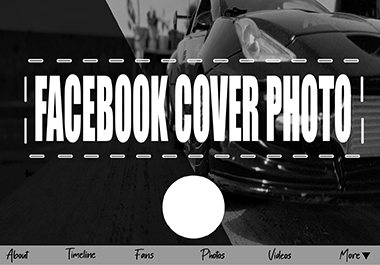 I will design a professional facebook cover photo for you