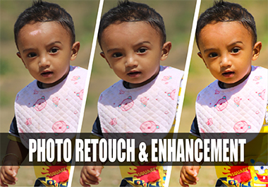 I will do Photoshop editing,  Photo retouching & enhancement for you and/or any product