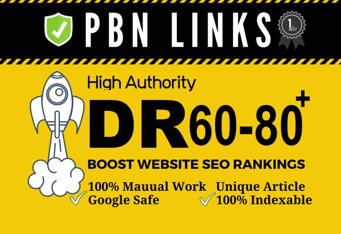 Build 30 High PA DA TF CF HomePage PBN Backlinks - Dofollow Quality Links