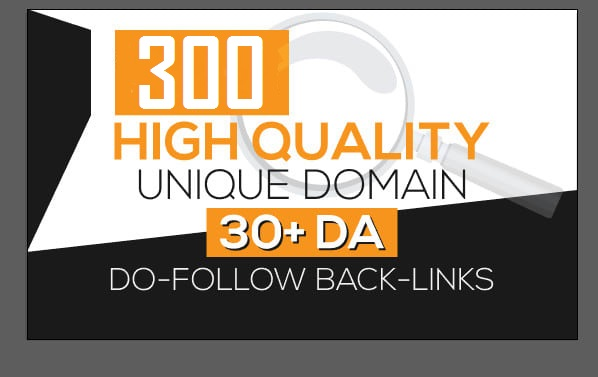 I will provide 300 unique domain blog comments dofollow backlinks