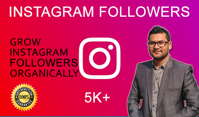 I will professionally grow your instagram account organically - Instagram Promotion