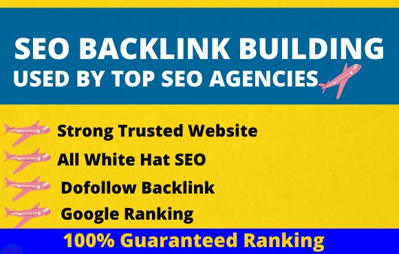 I will provide 150 pr9 permanent do-follow SEO backlinks high quality link building Service