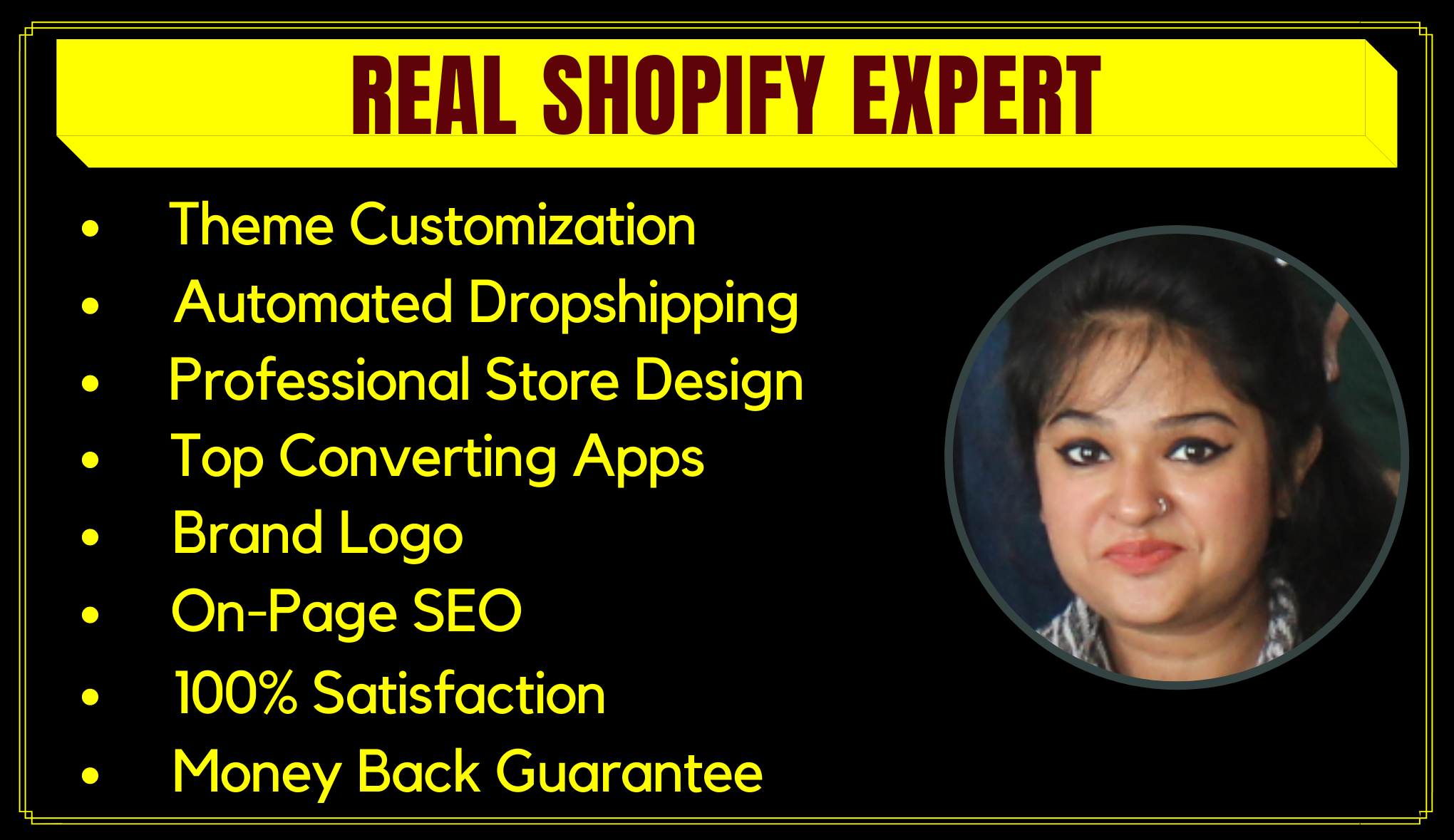 I will create profitable shopify website,  shopify dropshipping store