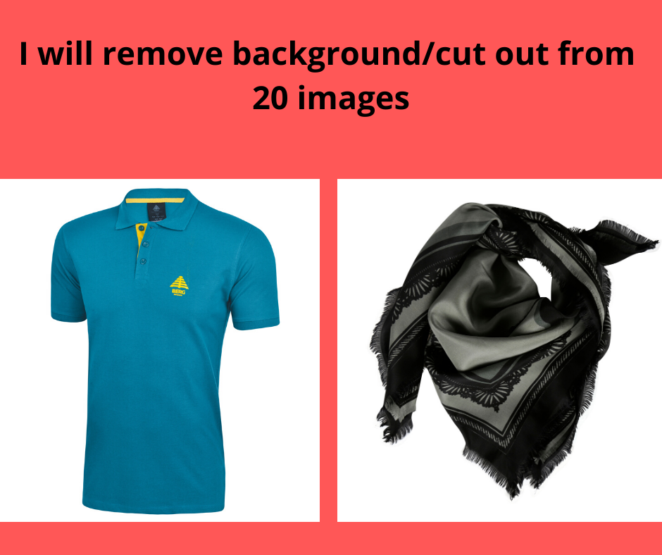 I am a Graphic Designer and I Will Remove Background 20 images