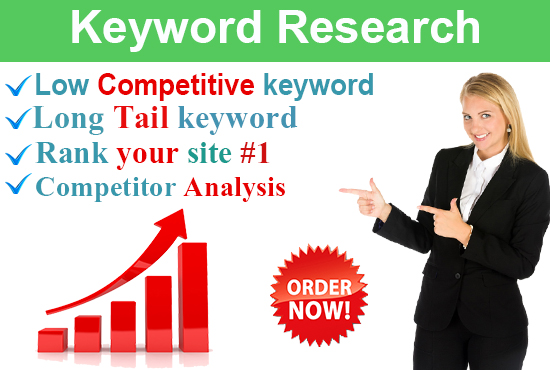 I will do killer SEO keyword research and competitor analysis in 24 hours