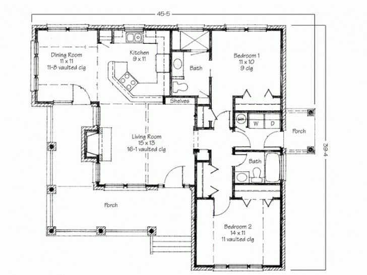 I can design 2D hous plans and drawings at reasonable price.