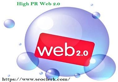 I will create manually web 2 0 dofollow backlinks