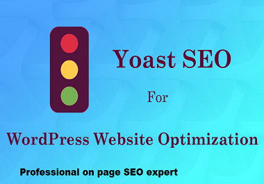 On page SEO and technical onpage optimization of wordpress website with yoast