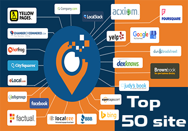 Top 50 manual local citations and directories for local SEO