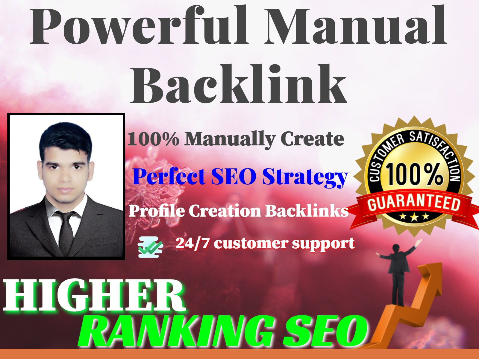 I Will Create 30 High Authority Profile Creation Backlinks.