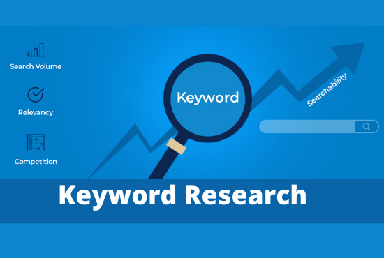 I will do in depth keyword research and find best keyword for your website