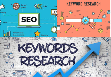 i will do SEO keyword research and website analysis manually rank your site Google top list