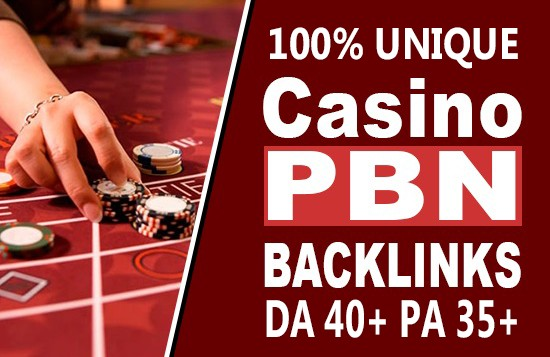 Manufacture 100+ Casino Backlink with High DA/PA/TF/CF On your landing page with Unique websitelink