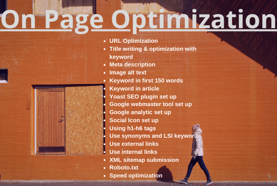 I will do On Page SEO Optimization for WordPress Website