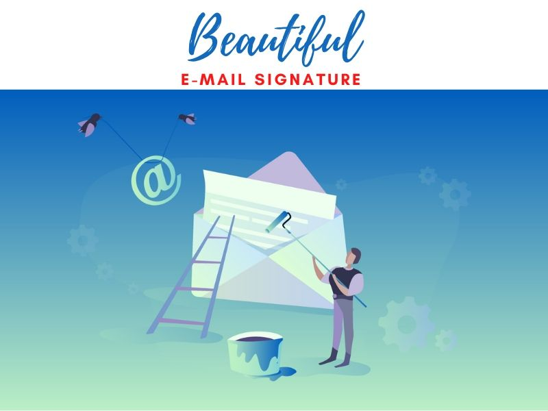 I will do e-mail Signature with clickable Social Icons at a cheap Rate