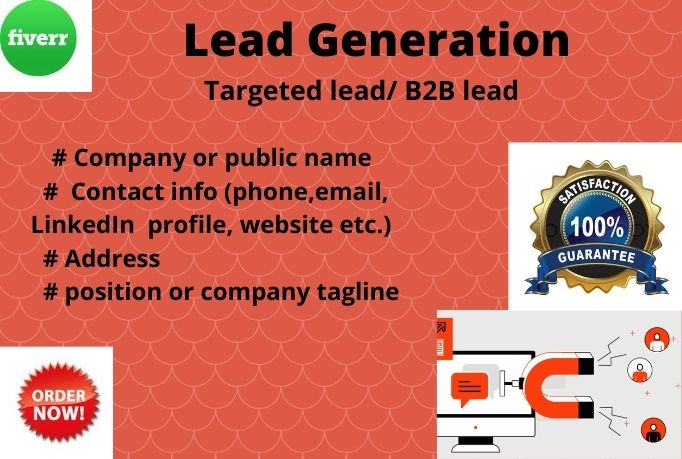 i will provide targeted LinkedIn & Business lead generation