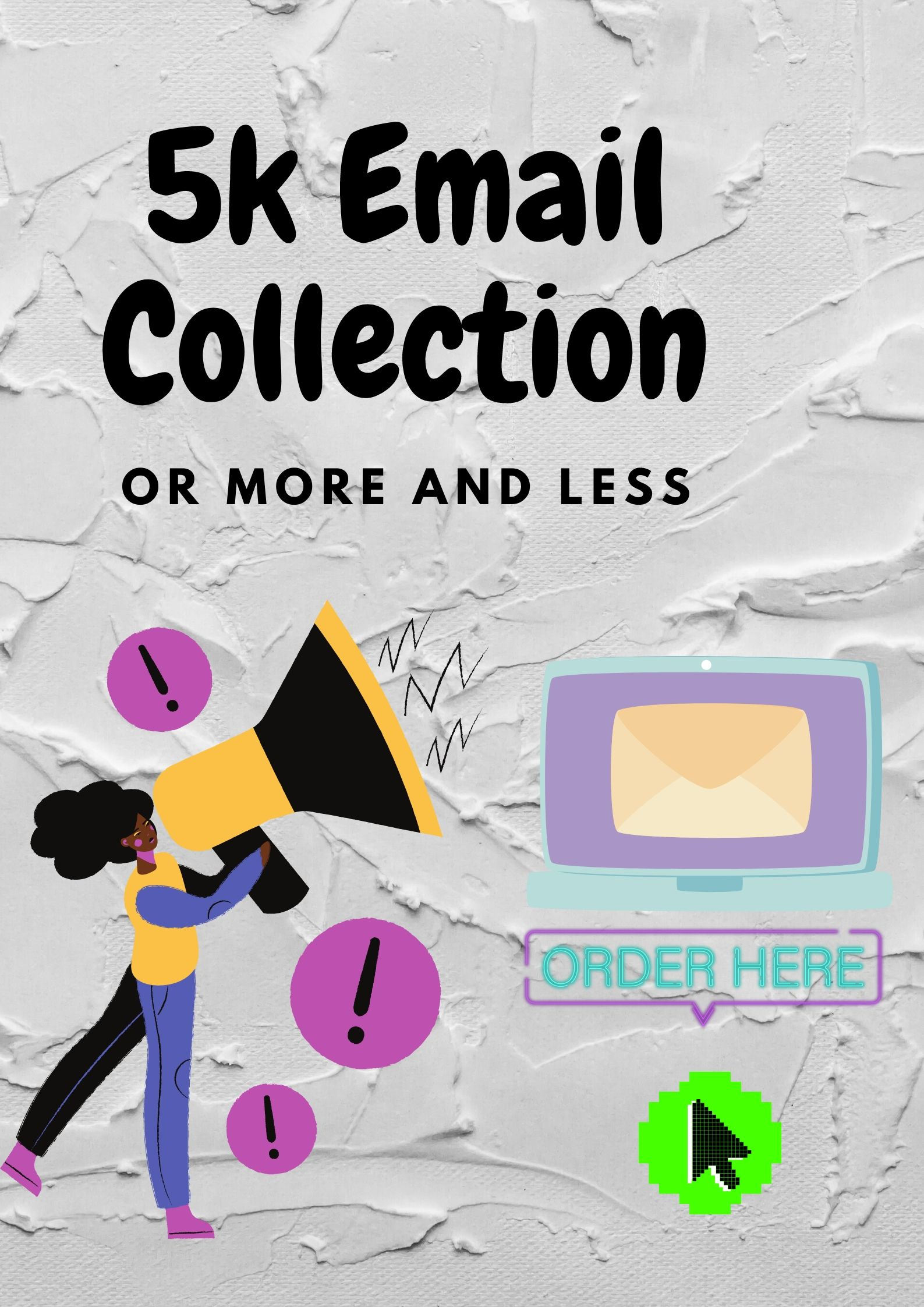 i will provide 5 k email list for email marketing
