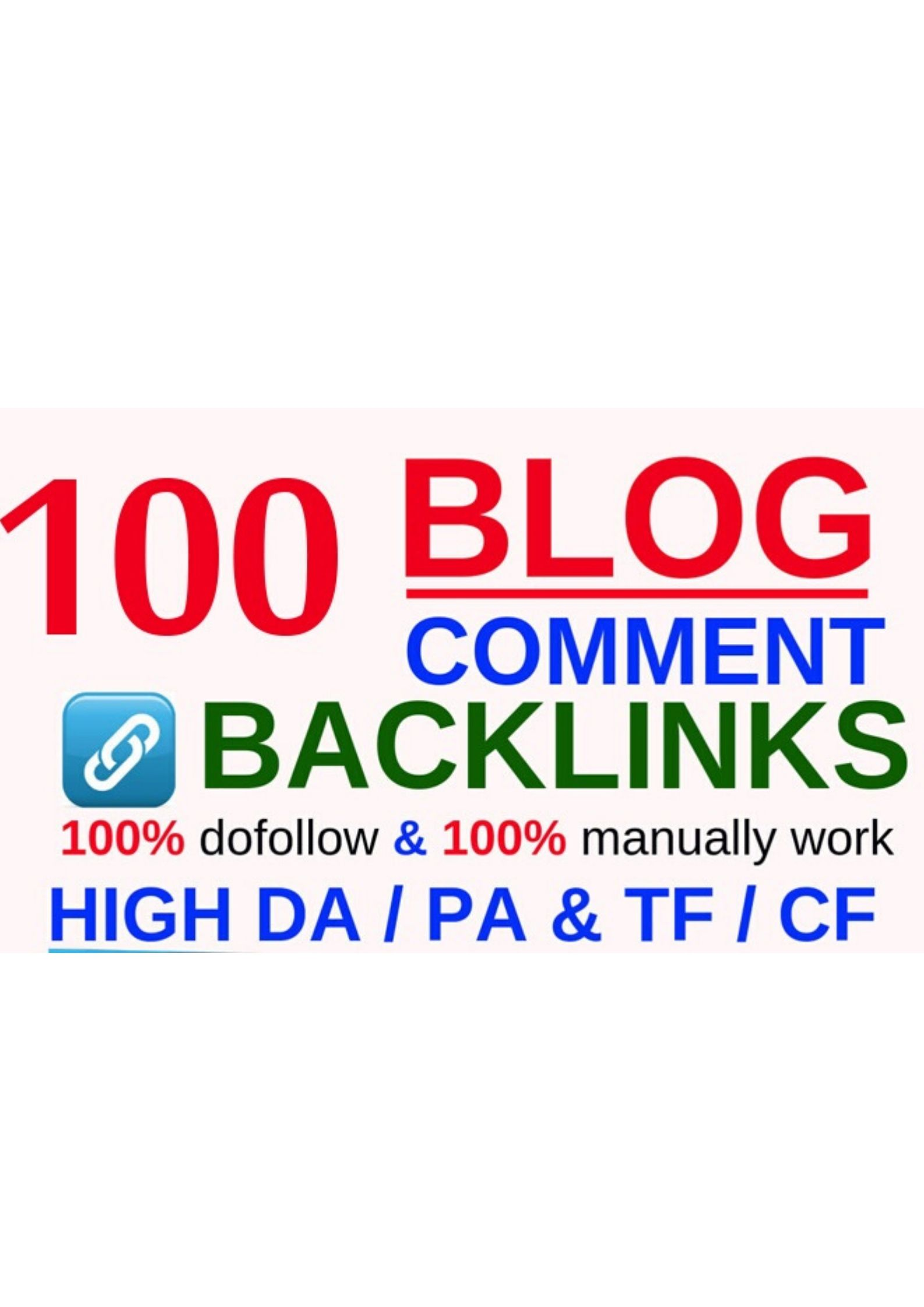 Get 100 High Quality Blog Comment Manually