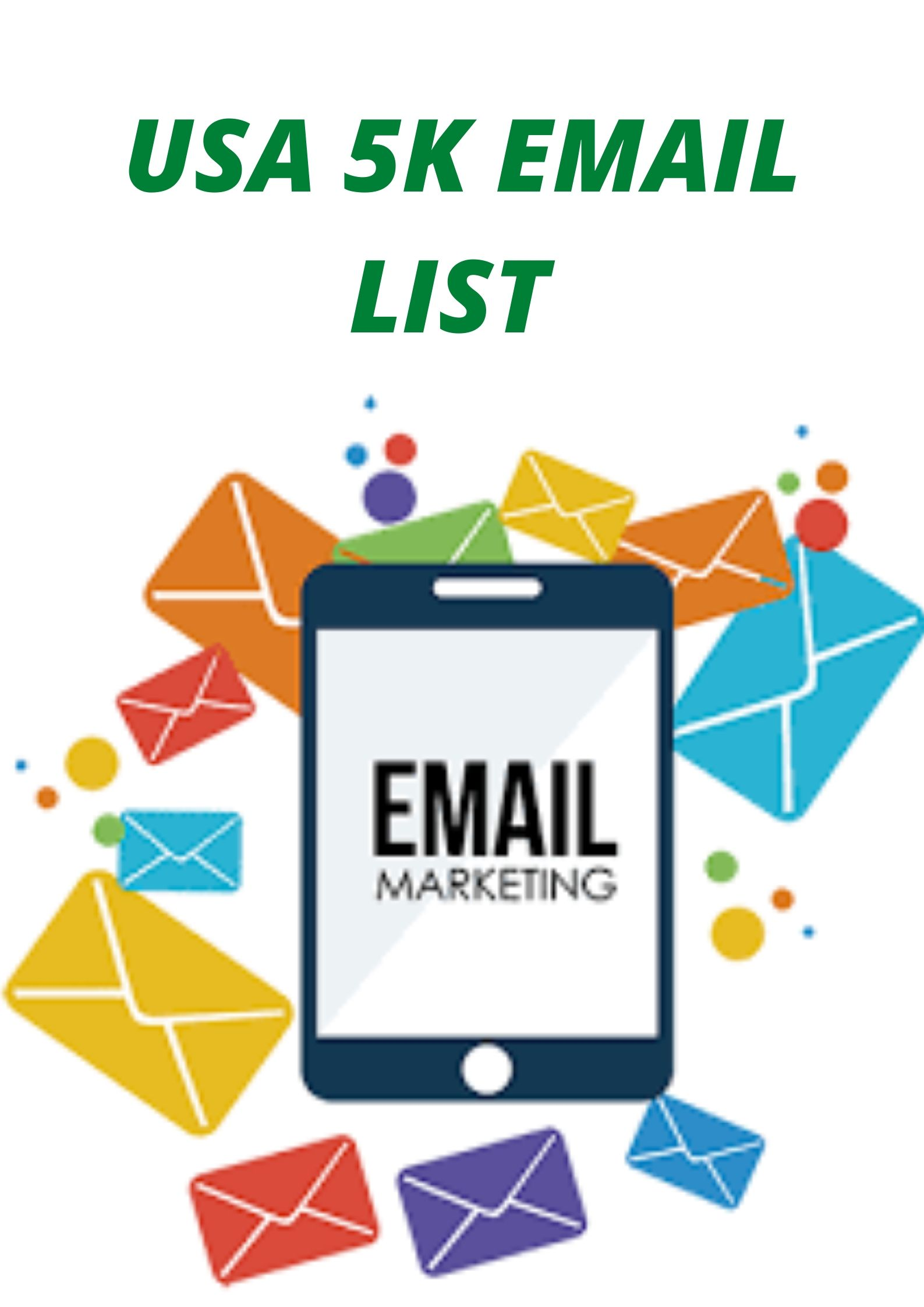 I will give email marketing for your business 5k latest USA email list