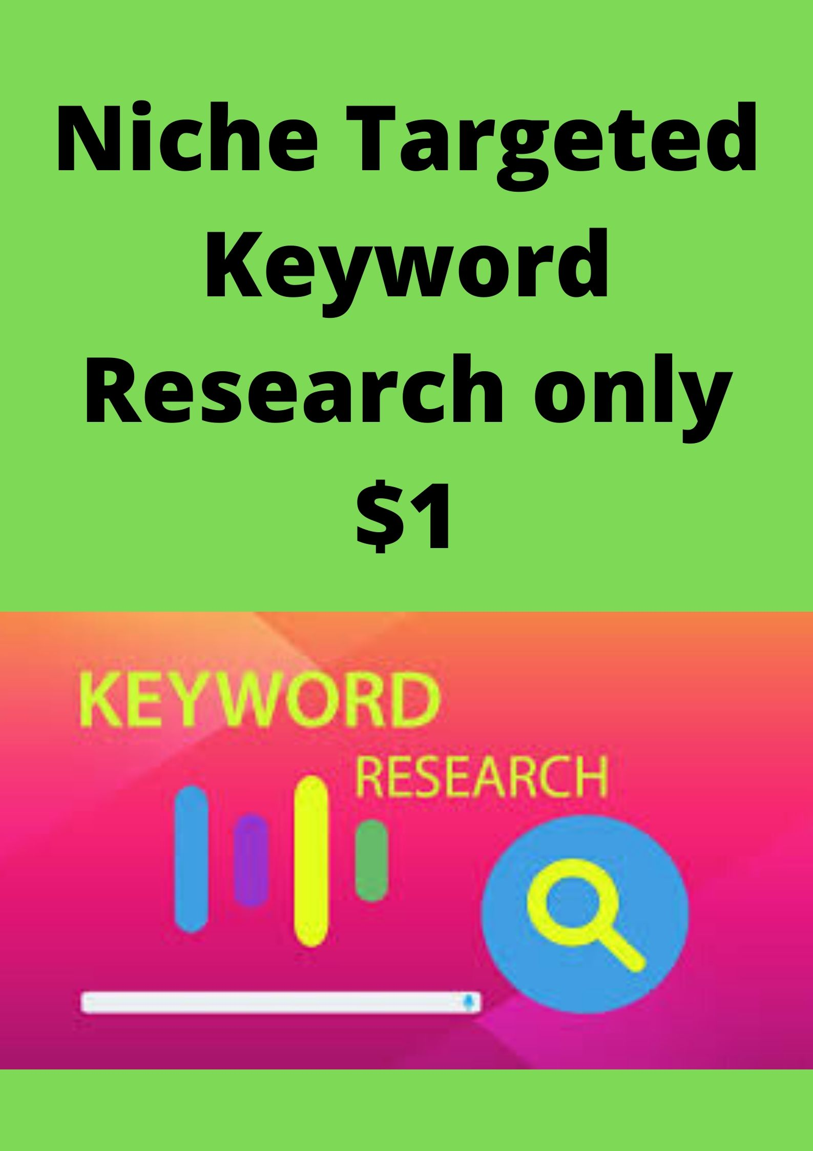 Niche Targeted Keyword Research