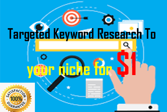 Targeted Keyword Research for your niche