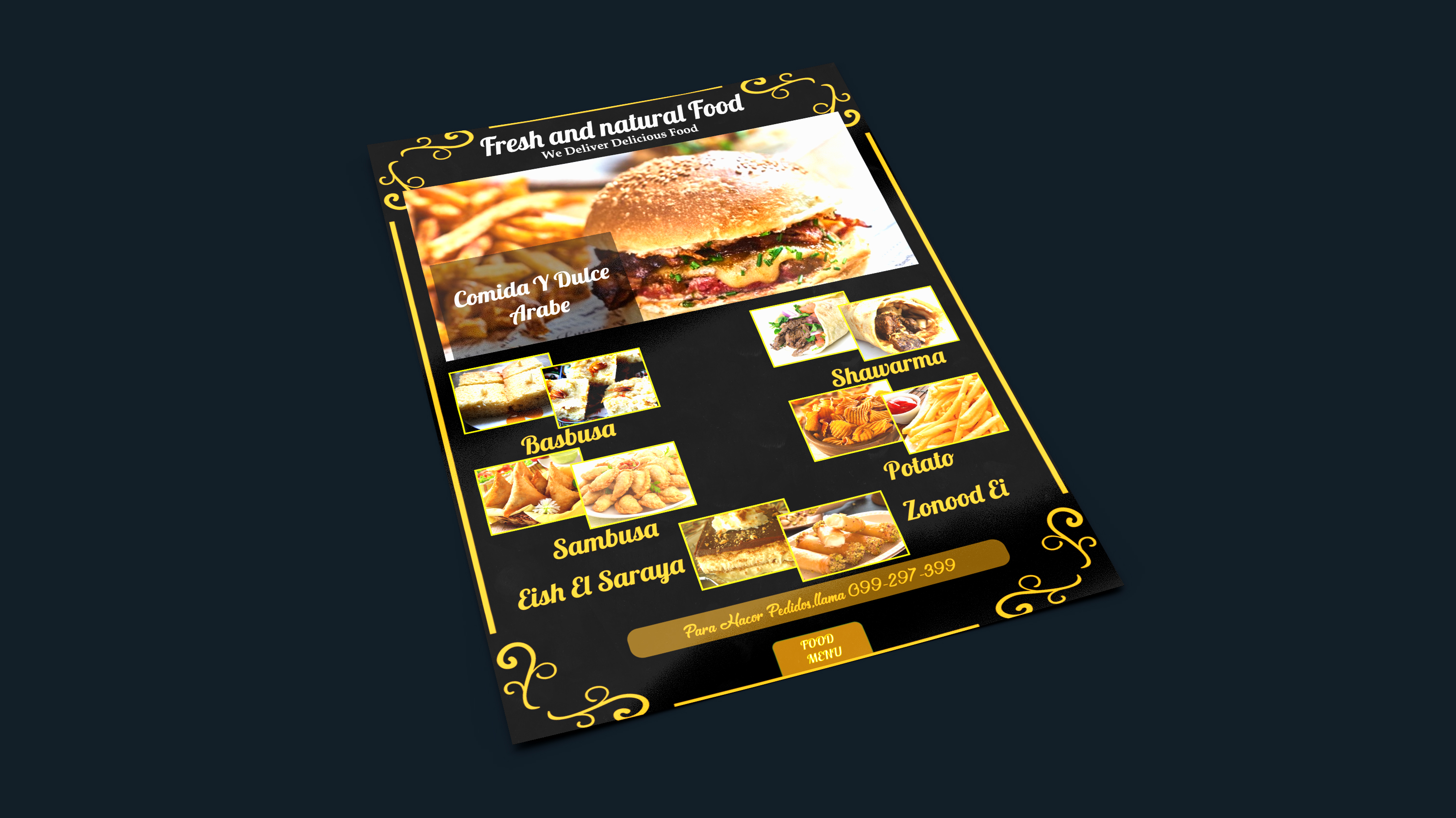 I will create beautiful flyers, posters, brochures and banner