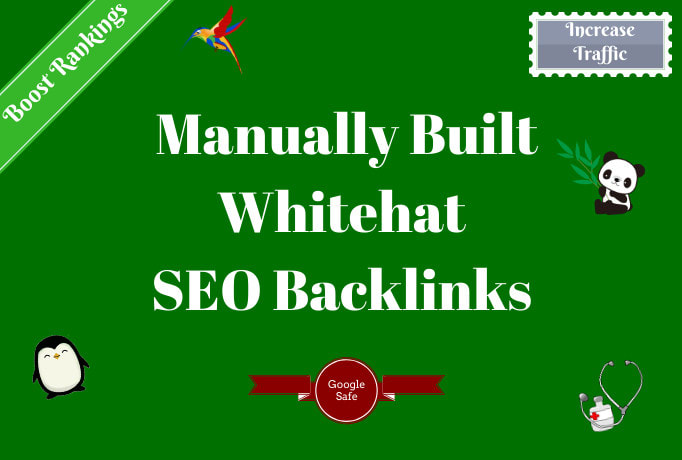 I will build 20 DR 50+ high quality dofollow SEO backlinks link building google ranking