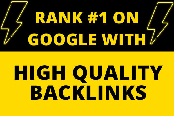 I will create DR 50+ high quality 100 dofollow backlinks for seo