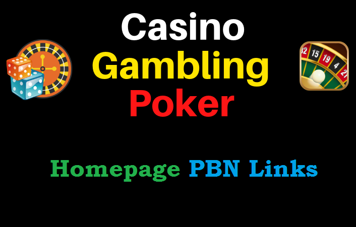 Create 60 PBNs Casino,  Gambling,  Poker,  Judi Related High DA websites