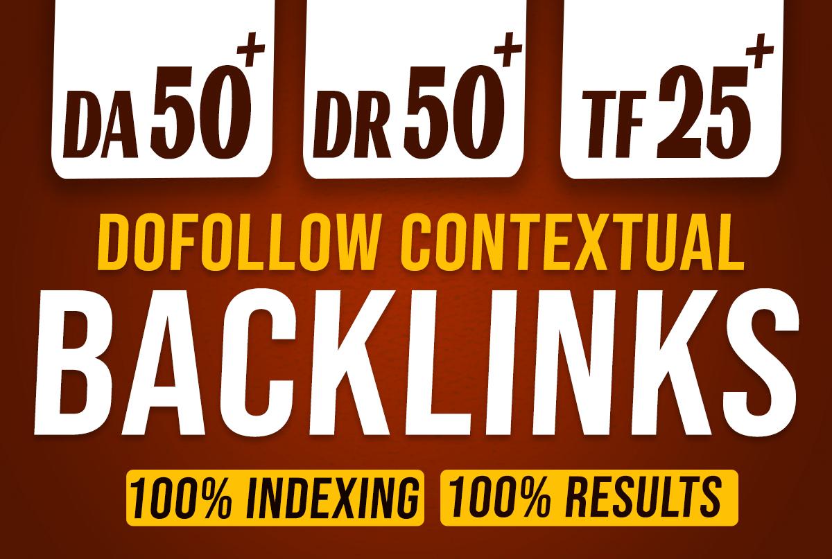 I will create 100 power blend PBN DR 50 & DA 50 dofollow backlinks white hat seo