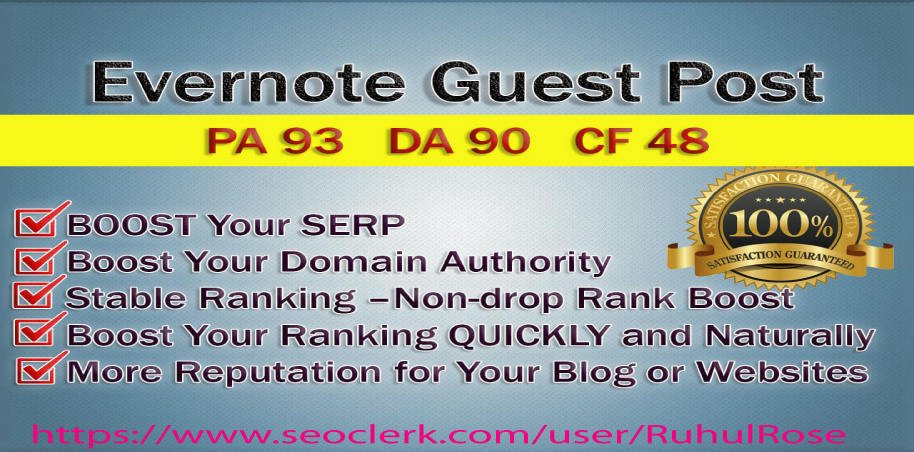 Write And Publish Guest Post On