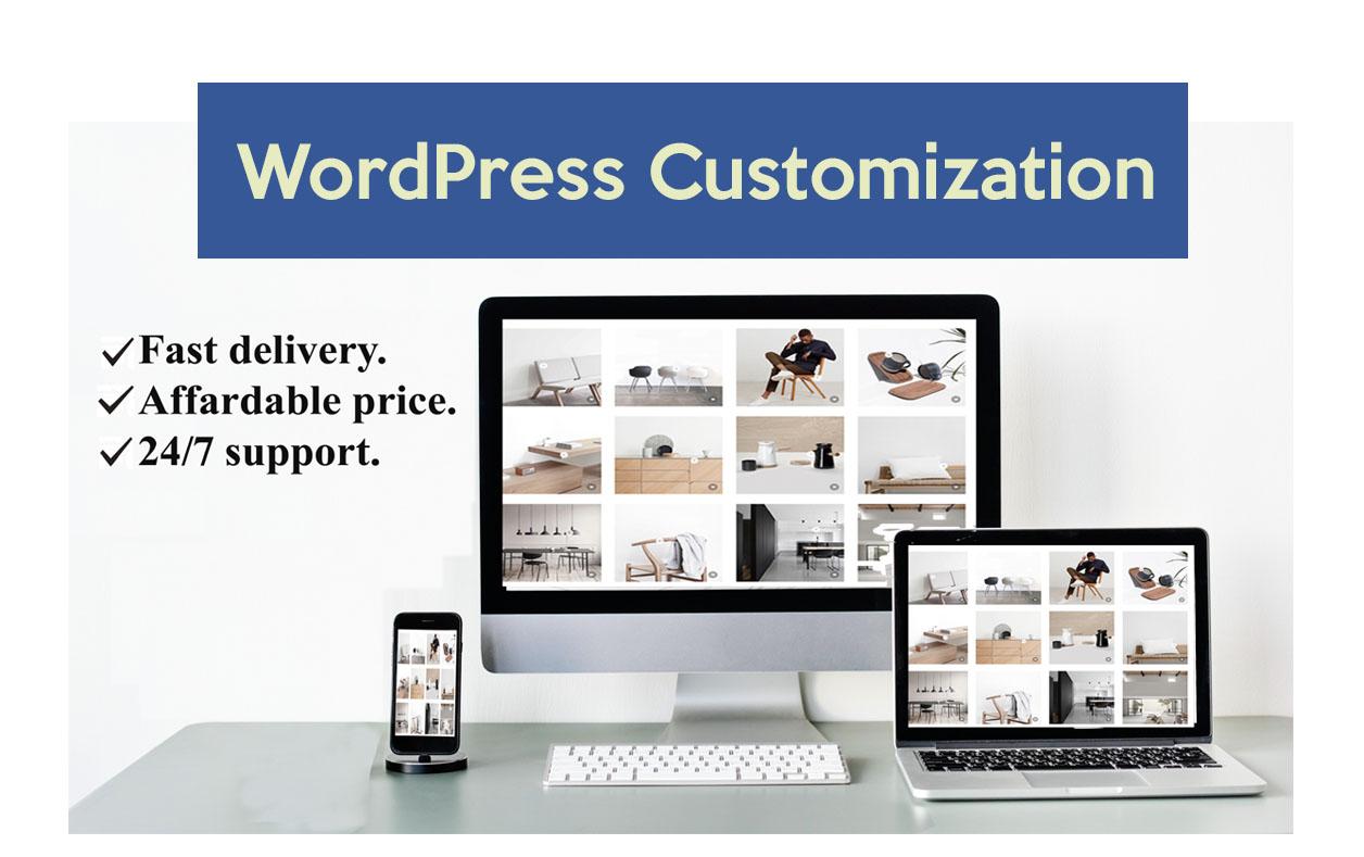 I will do wordpess customization and responsive design