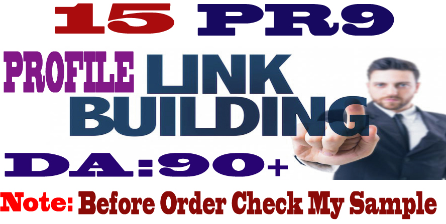 Create 15 High PR High Domain Authority backlinks Exclusive for Seo Linkbuilding