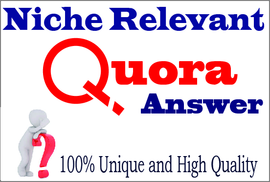 Get targeted traffic with 50 HQ Quora Answers