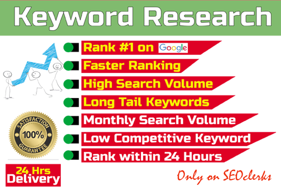 I will do the best kgr keyword research for your website