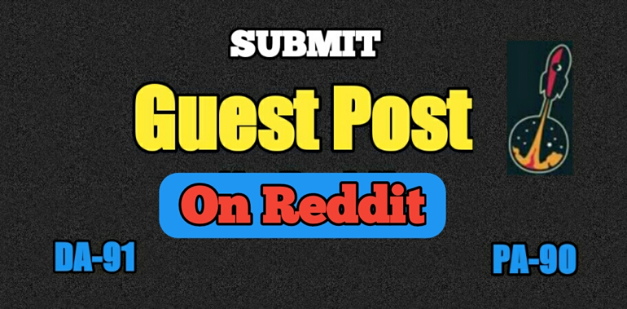 I will Publish guest post on Reddit