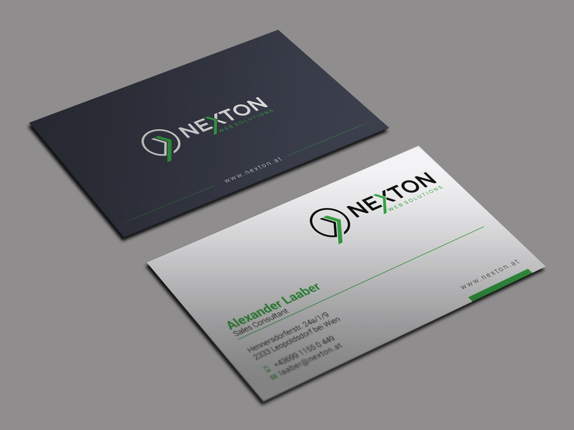 I will do professional business card design with your logo
