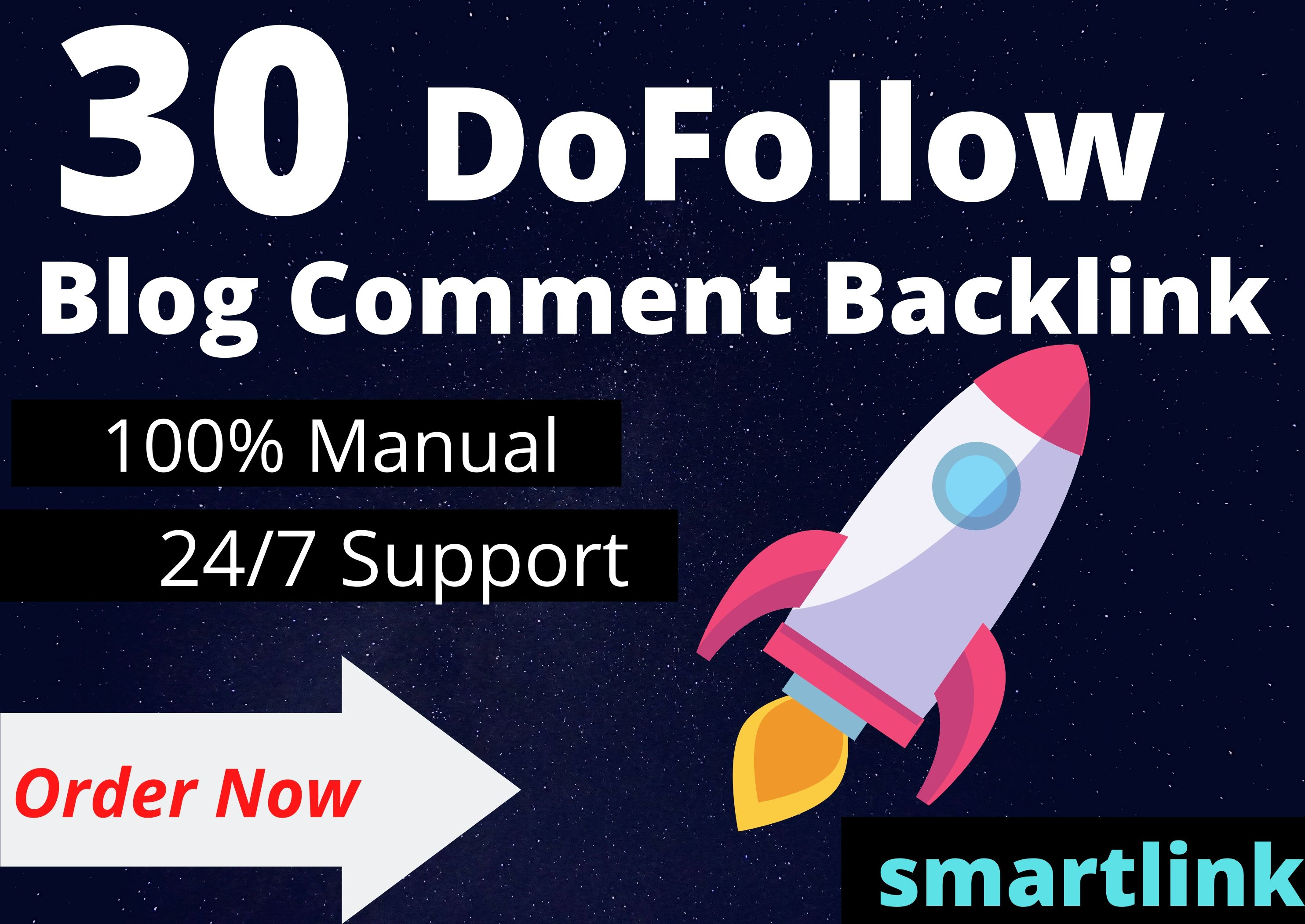 Create Manually 30 Niche Relevant Blog Comments Backlinks On High DA