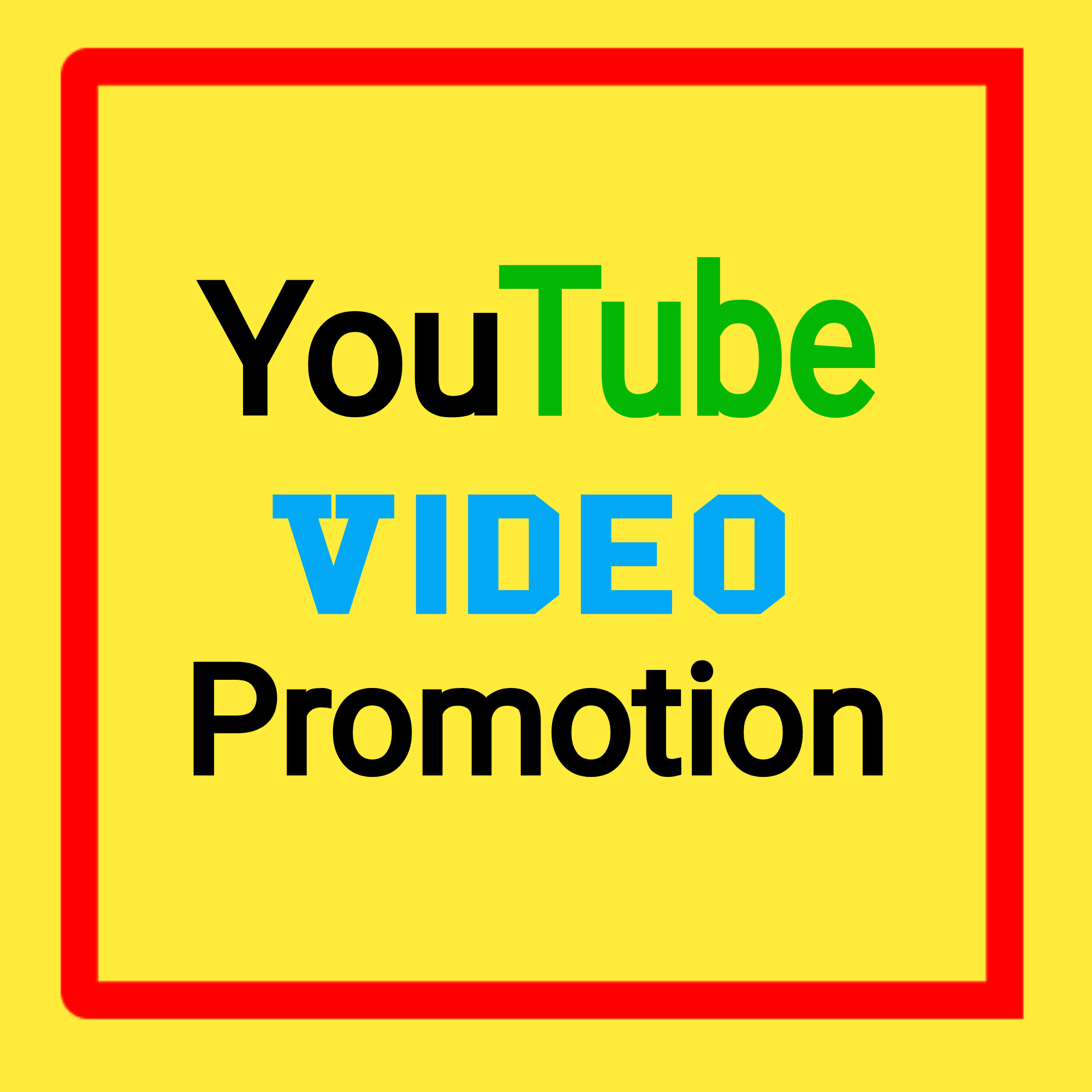 High Quality YouTube Video Promotion Fast Delivery