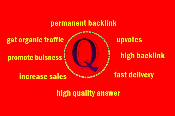 I can provide 3 quora answer to promote your website with high backlink+ upvote