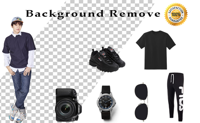 I will Professionally remove background from any image