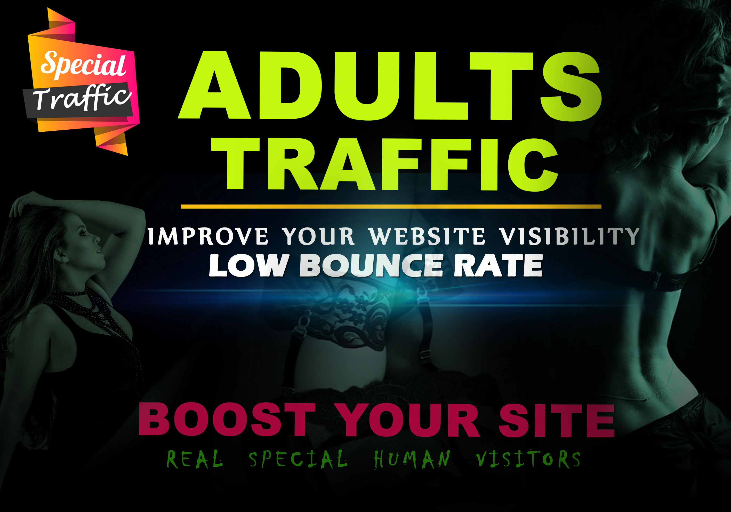 30,000 adult traffic,  visitors to your any kind of porn gambling adults website