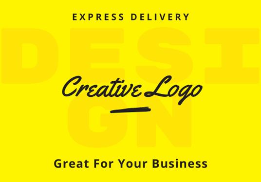i will design creative logo in 2 days