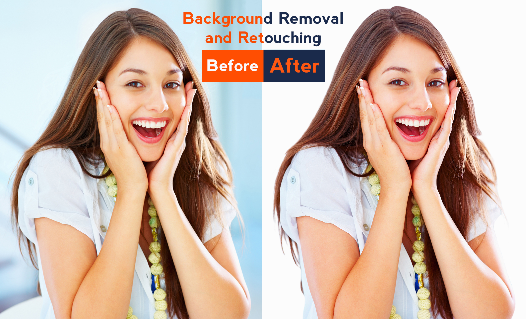 I will do photo editing,  background remove and retouching