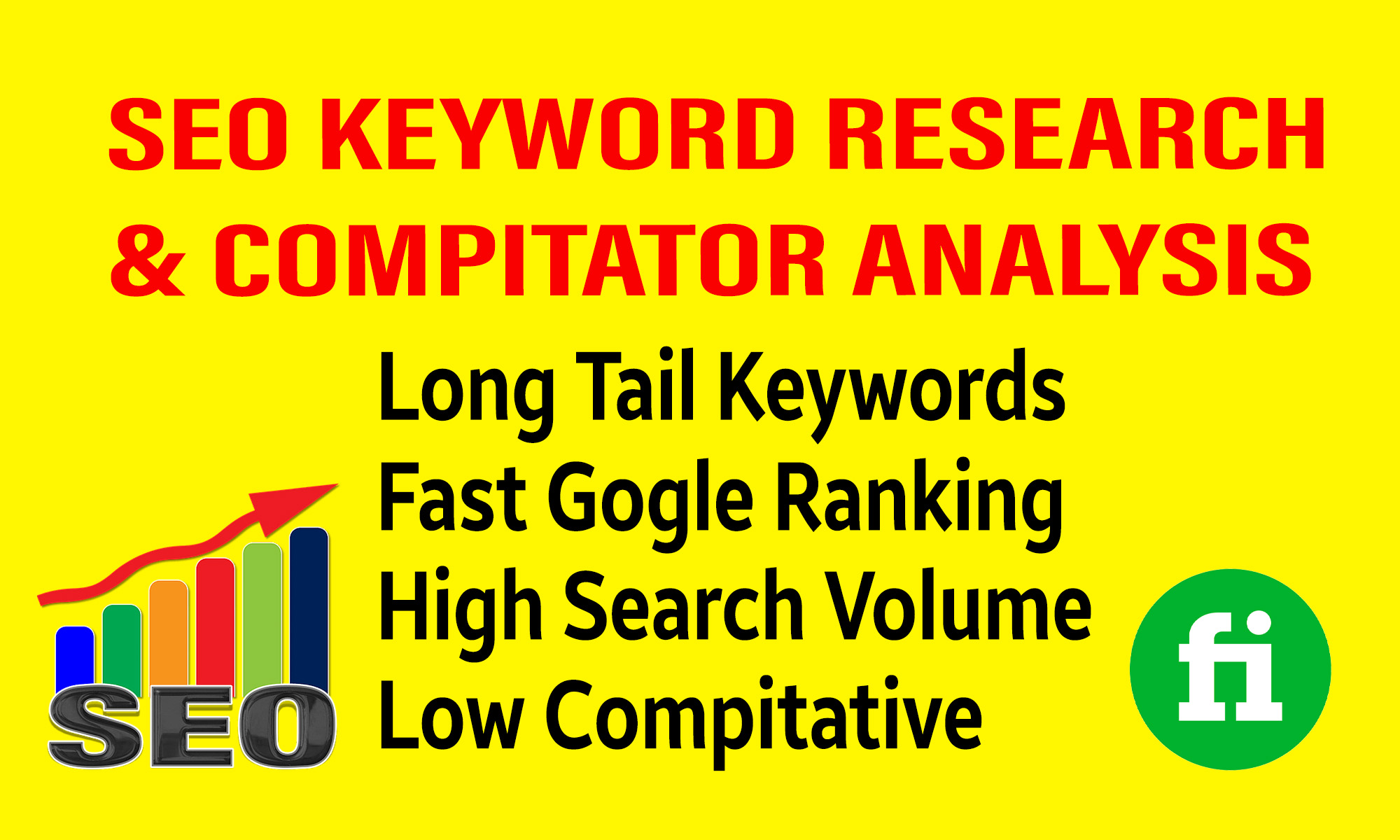 I will Develop SEO KEYWORD research and competitor analysis
