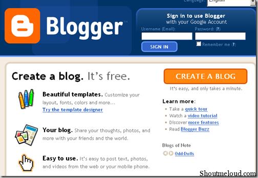 i will make a good professional blogspot website