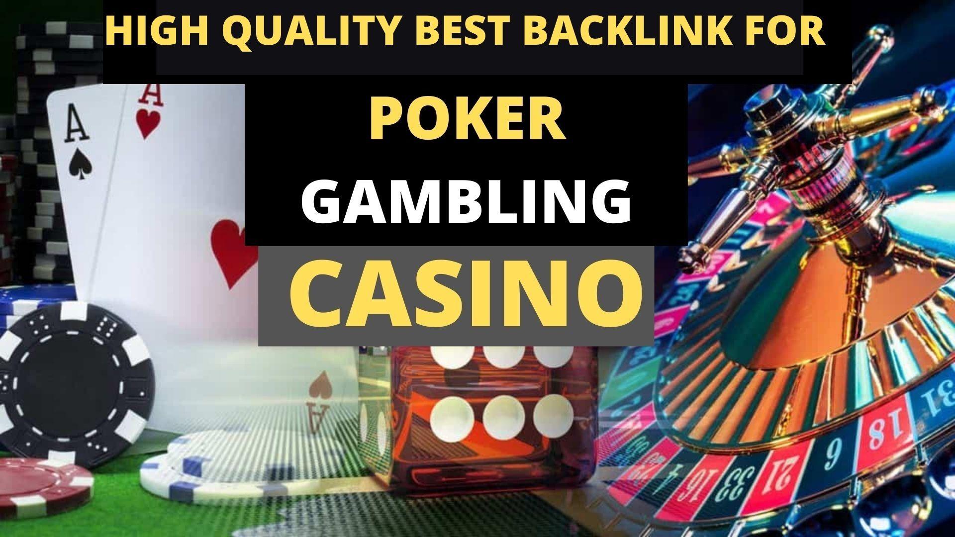 1000+ Casino,  Poker,  Gambling High Quality Pbn Backlinks on high authority sites