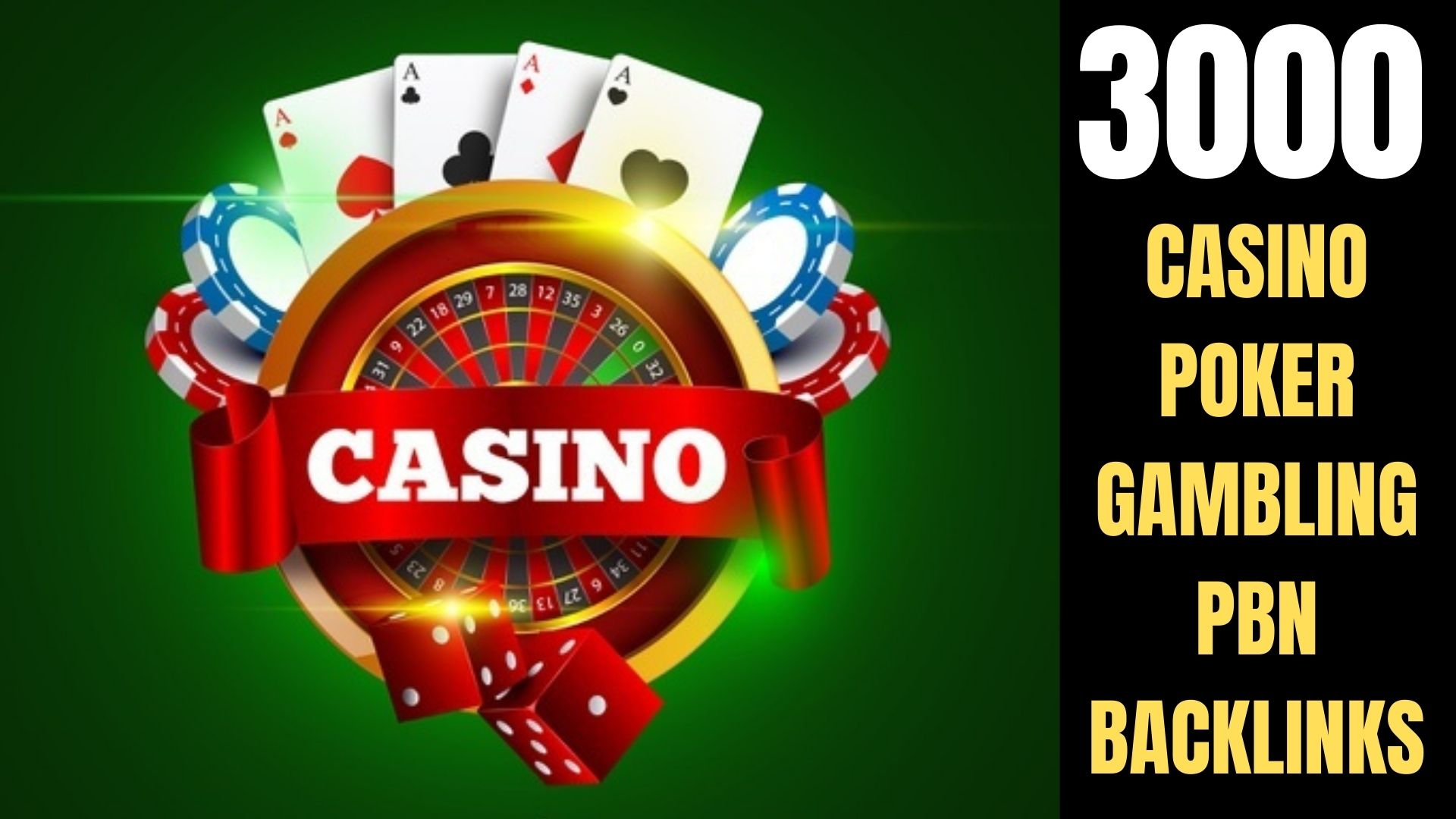 buy one get free one 3000+ permanent pbn Casino,  Gambling,  Poker,  Sports judi related unique site